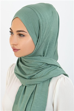 Practical Cotton Shawl Cagla Green ECA01 HPDŞ-ST277