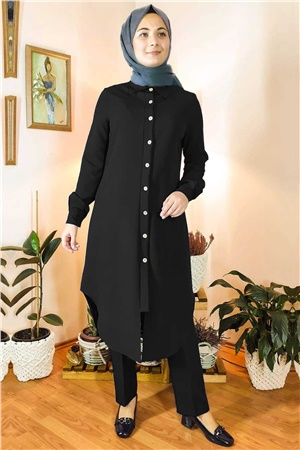 Double Trousers Tunic Suit FHM738