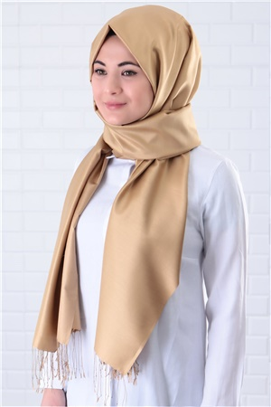 Shawl - %100 Silk - Gold - SAL03