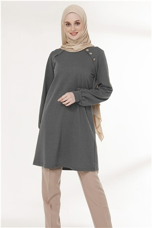 Tunic - Button - Smoked - TN266 - 5424002